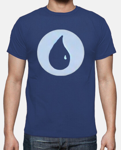 Camisetas Magic - Mana Azul - Friki