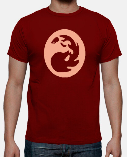 Camisetas Magic - Mana Rojo - Friki