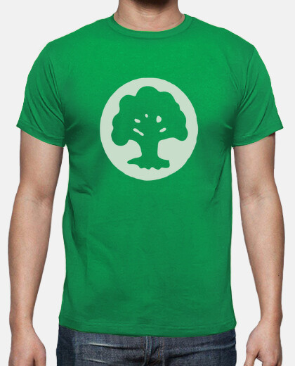 Camisetas Magic - Mana Verde - Friki