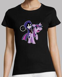 Magic Pony (Womens Black)