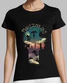 magische tiere shirt frauen
