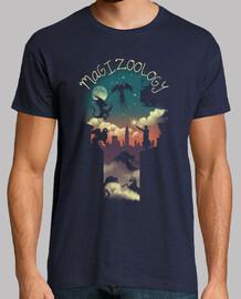 magische tiere shirt herren
