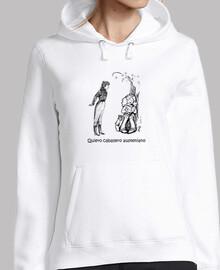 maglia austen hoodie per loro - maglione del cappuccio austen per le ragazze