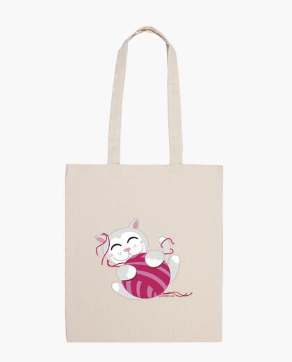 Borsa magliaia kitty