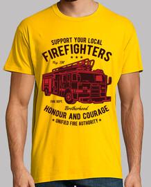magliaon dei vigili del fuoco