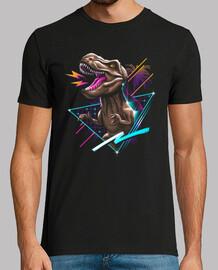 maglietta da uomo rad t-rex