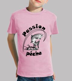 maglietta della passione per la pesca