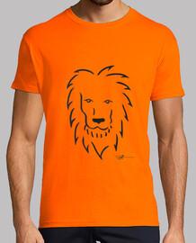 maglietta leone uomo