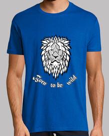 maglietta selvaggia libera nata per essere wild uomo wild