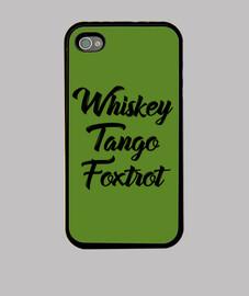 maglietta wtf whisky tango volpe trot c