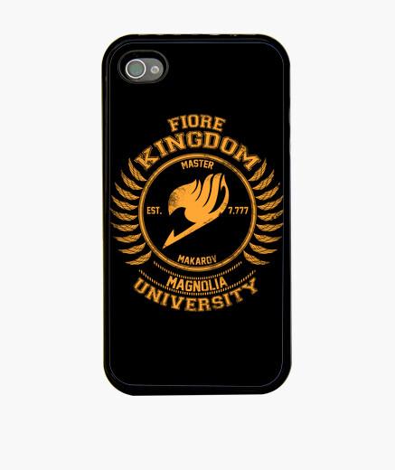 Coque iPhone magnolia oranges université