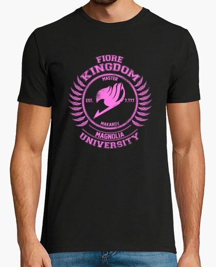 Tee-shirt magnolia rose université