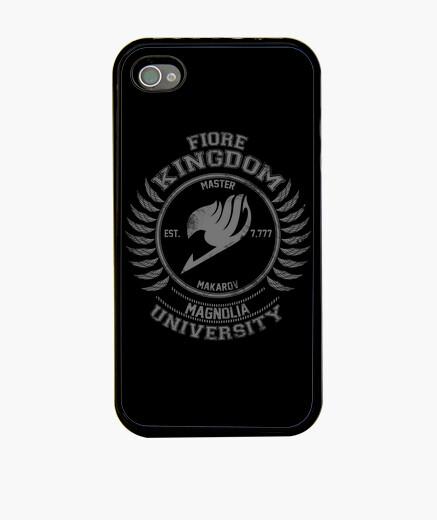 Funda iPhone Magnolia University gray