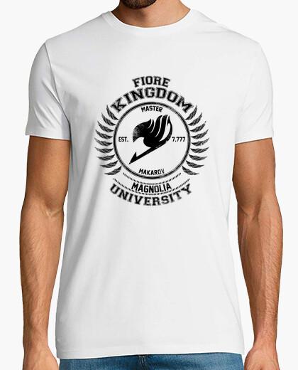 Tee-shirt Magnolia University noir