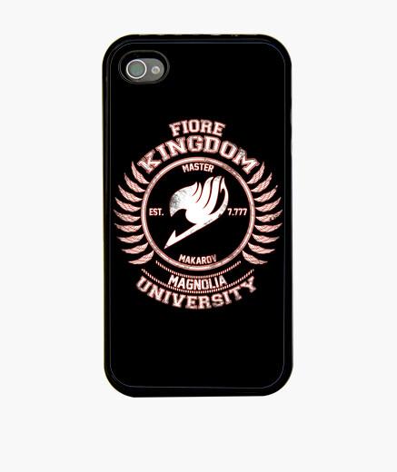 Funda iPhone Magnolia University white red