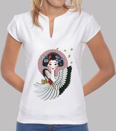 maiko: apprentice geisha heron and butt