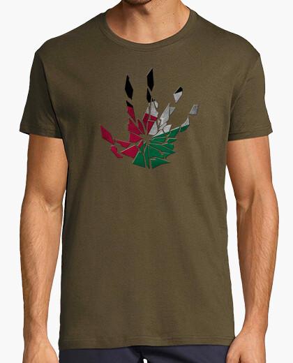 Tee-shirt main cassée palestinienne