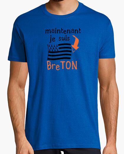 Tee-shirt maintenant je suis Breton