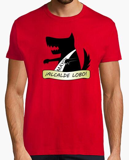 Tee-shirt maire loup!