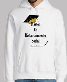 maître de la distanciation sociale noir