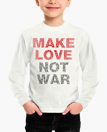 Ropa infantil MAKE LOVE NOT WAR