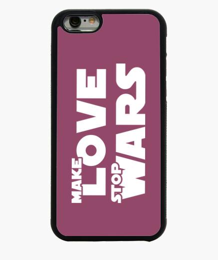 Funda iPhone 6 / 6S Make LOVE Stop WARS 2