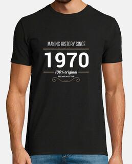 making history 1970 testo bianco