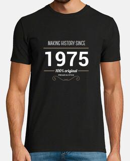 making history 1975 testo bianco