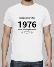making history 1976 testo nero