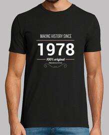 making history 1978 testo bianco