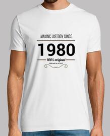 making history 1980 testo nero