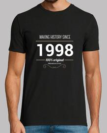 making history 1998 testo bianco