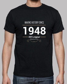 Making History since 1948 white