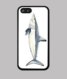 mako shark - case iphone 5 / 5s, black