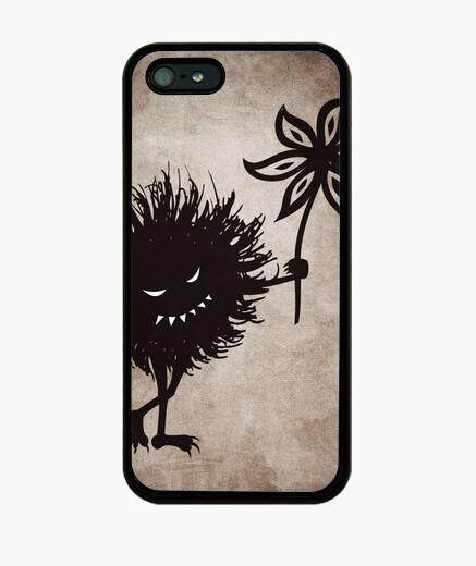 Funda iPhone mal bicho da vendimia gótico flor