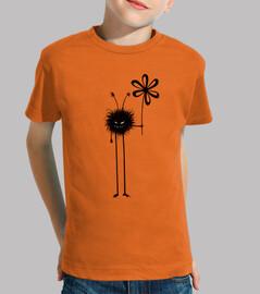 mal bicho flor