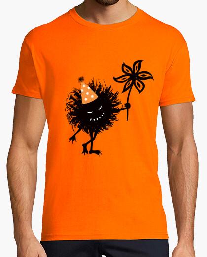 Mal bicho lanza fiesta de halloween camiseta
