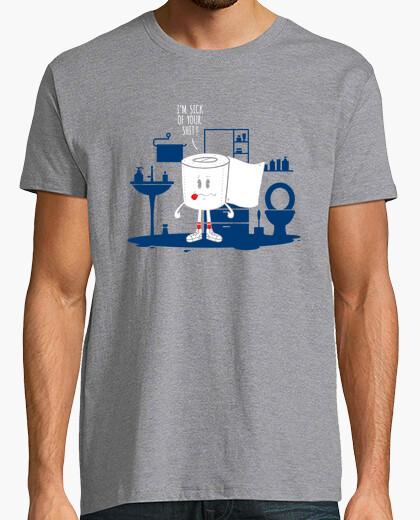 Tee-shirt malade de ta merde