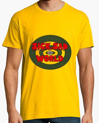 Tee-shirt malade, triste monde