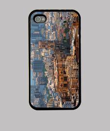 Malaga Funda iPhone 4, negra