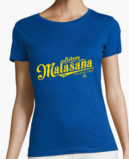 Malasaña bikers woman t-shirt