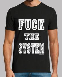 Malavirgen. Fuck the system blanco