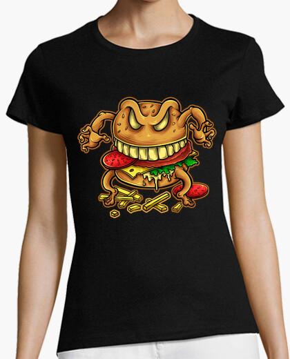 Tee-shirt Malédiction du hamburger