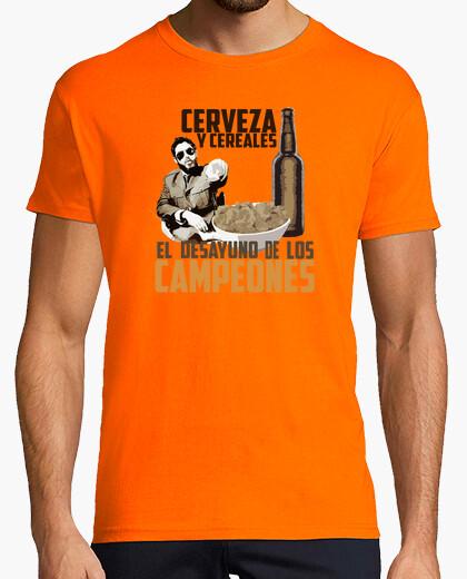 Camiseta Malviviendo- Cerveza y cereales