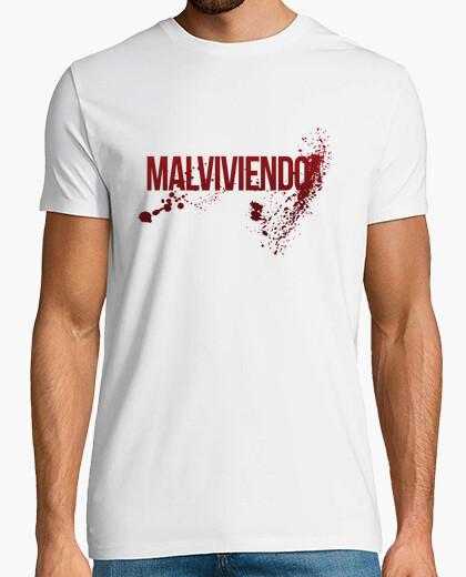 Camiseta Malviviendo- Dexter