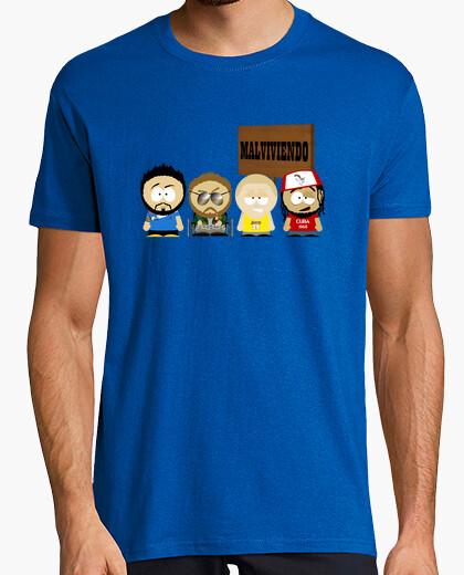 Camiseta Malviviendo- South park Cartel