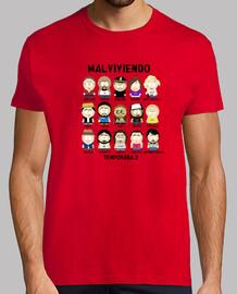 Malviviendo- South Park Personajes 2ªT