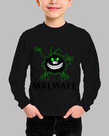 malware green outline logo