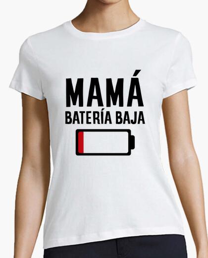 Camiseta Mamá batería baja