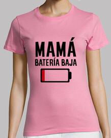 Mamá batería baja